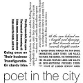 I made many events and one ambient literature event for Poet in the City